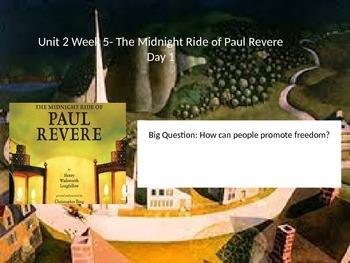 Reading Street 5.2.5- The Midnight Ride of Paul Revere
