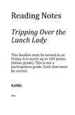 Reading Street 5.4 Week 2 Tripping Over the Lunch Lady