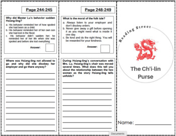 The Ch'i-lin Purse - 5th Grade Reading Street
