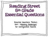 Reading Street 5th EQs Unit1/FL Edition