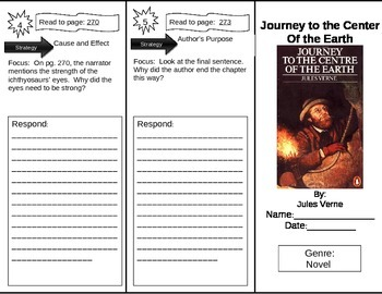 Reading Street 5th Grade Journey to the Center of the Earth