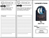 Reading Street 5th Grade Leonardo's Horse Trifold