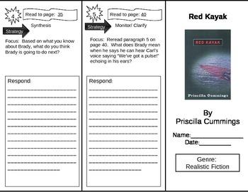 Reading Street 5th Grade Red Kayak Trifold