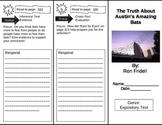 Reading Street 5th Grade The Truth About Austin's Amazing Bats Trifold