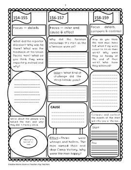Reading Street 5th Grade ( Unit 1 Lessons 1-5) Trifolds Bundle