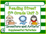 Reading Street 5th Grade Unit 3 2008 version of Supplemental Activities 2013