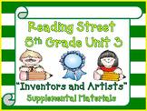 Reading Street 5th Grade Unit 3 Printables | 2008