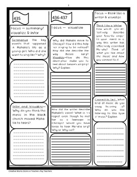 Reading Street 5th Grade ( Unit 3 Lessons 1-5) Trifolds Bundle