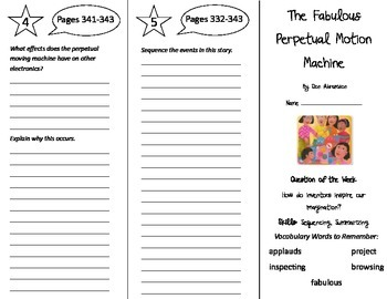 Reading Street 5th Grade Unit 3 Trifolds Bundle!