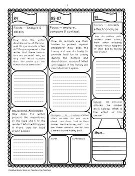 Reading Street 5th Grade ( Unit 4 Lessons 1-5) Trifolds Bundle