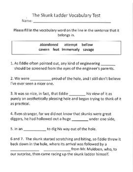 Reading Street 5th Grade Unit 5 Vocabulary Tests and Vocab