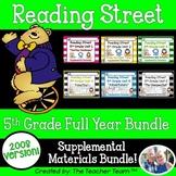 Reading Street 5th Grade Units 1-6 Printables Whole Year Bundle | 2008
