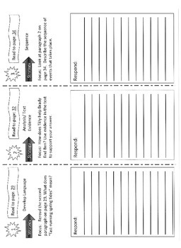 Reading Street 5th Grade Units 1-6 Trifolds