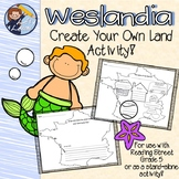 "Reading Street 5th Grade ""Weslandia"" - Create Your Own Lan"