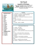 Reading Street 5th grade Study Guides Unit 1-6  30 Lessons