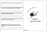Mother Fletcher's Gift - 6th Grade Reading Street