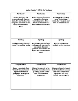 Reading Street 6th Grade Reading Response Questions Unit 1 Week 2