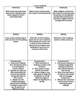 Reading Street 6th Grade Reading Response Questions Unit 1 Week 4