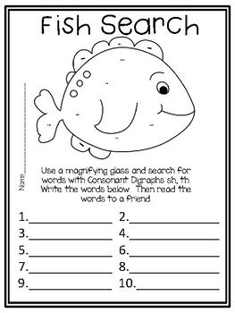 A Big Fish for Max,  Centers and Printables For All Ability Levels