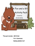 Reading Street A Fox and a Kit Activity Pack
