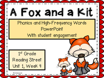1st Grade, Interactive PowerPoint, A Fox and a Kit