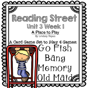 Reading Street: A Place to Play 4-in-1 Spelling and HFW Games