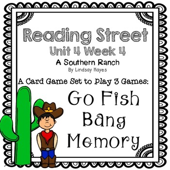 Reading Street: A Southern Ranch 3-in-1 Spelling and HFW Games