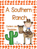 Reading Street, A Southern Ranch, Centers and Printables F