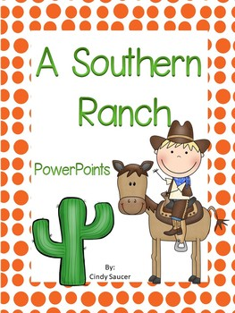 Reading Street, A Southern Ranch, Interactive PowerPoint