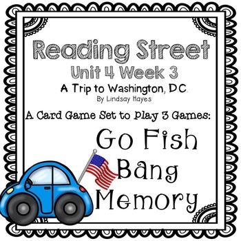 Reading Street: A Trip to Washington, D.C.  3-in-1 Spellin