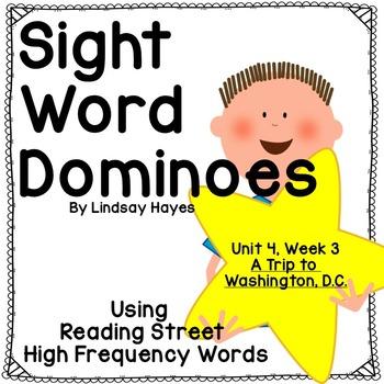 Reading Street: A Trip to Washington D.C., Sight Word Dominoes