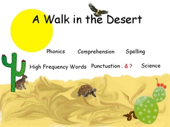 Reading Street: A Walk in the Desert