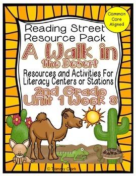 A Walk in the Desert Reading Street Resource Pack Unit 1 Week 4