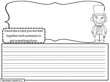 Reading Street Abraham Lincoln Unit 2 Week 2 Differentiated Resources 2nd