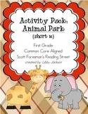 Reading Street Activity Pack: Animal Park (short u)