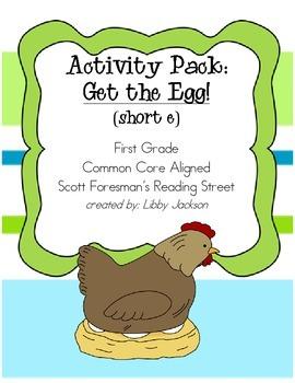 Reading Street Activity Pack: Get the Egg (short e)
