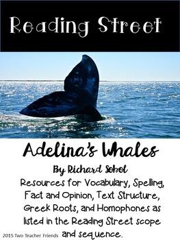 Reading Street Adelina's Whales