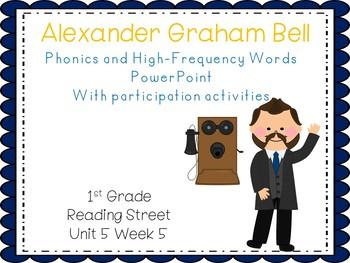 1st Grade Interactive PowerPoint, Alexander Graham Bell