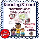 Reading Street 2nd Grade Unit 1 Supplemental Materials Common Core 2013