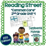 Reading Street 2nd Grade Unit 4 Printables | 2013