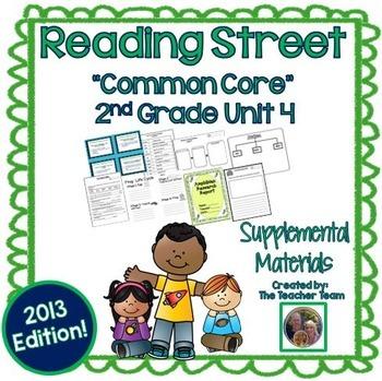 Reading Street 2nd Grade Unit 4 Supplemental Materials 2013