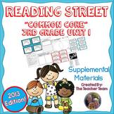 Reading Street 3rd Grade Unit 1  Common Core 2013 Supplemental Materials