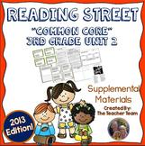 Reading Street 3rd Grade Unit 2 Common Core 2013 Supplemental Materials