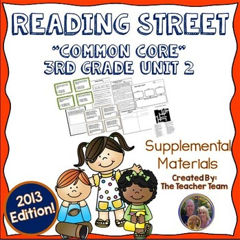 Reading Street 3rd Grade Unit 2 Common Core 2013 Supplemental Materials