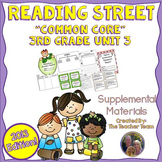 Reading Street 3rd Grade Unit 3  Common Core 2013 Supplemental Materials