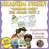 Reading Street 3rd Grade Unit 3 Printables Bundle   2013