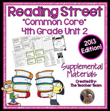 Reading Street 4th Grade Unit 2 Printables | 2013