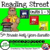 Reading Street 5th Grade Unit 1 -Unit 3 Printables Bundle | 2013
