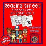 Reading Street 5th Grade Unit 2 Printables| 2013