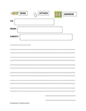Reading Street Aligned - Email Pen Pal Template